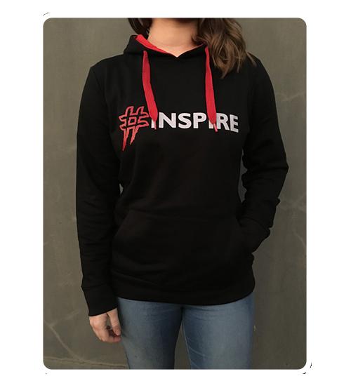 #Inspire Hoodie Female